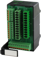 TRANSFER MODULE FOR DIN RAIL MOUNTING