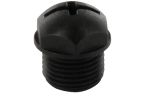 BLIND PLUG M12, PLASTIC, 10 PIECES