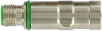 M12 MV insert shielded male / female snap