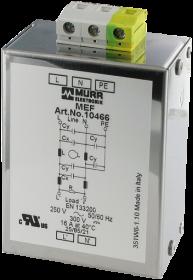 MEF EMC-FILTER 1-PHASE 2-STAGE