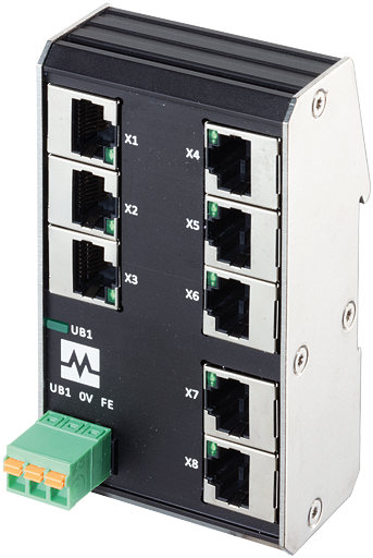 Xenterra 8TX unmanaged Switch 8 Port 100Mbit