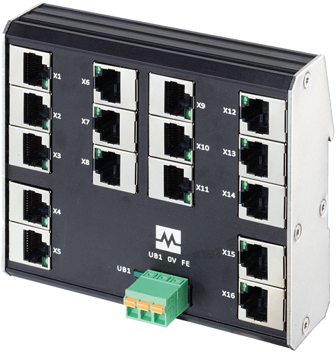 Xenterra 16TX unmanaged Switch 16 Port 100Mbit